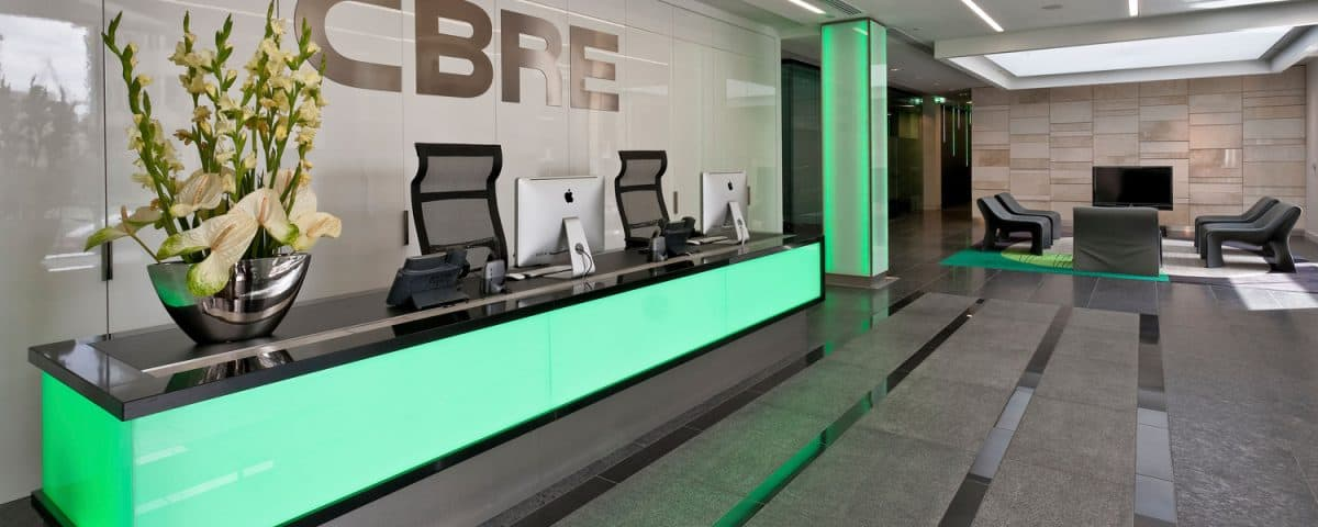 cbre reception image