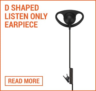 d shape earpiece folio image