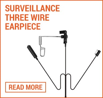 three wire earpiece folio image