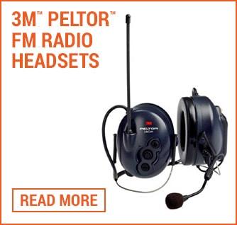 3M Peltor FM Radio Headse