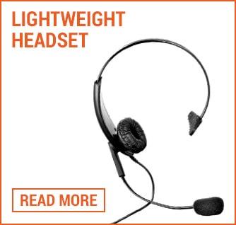 lightweight headset folio image