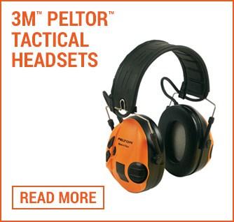 3m Peltor tactical headsets folio image