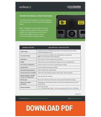 Edesix vb300 pdf download