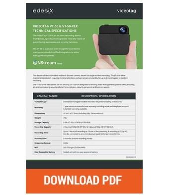 Edesix vt50 pdf download