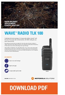 motorola wave tlk100 pdf download